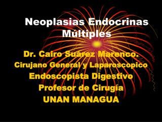 Neoplasias Endocrinas Múltiples