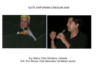 SUITE DIAPORAMA CINEALMA 2008