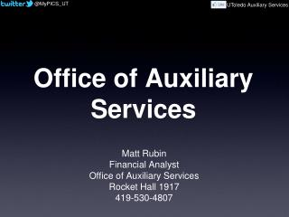 Office of Auxiliary Services