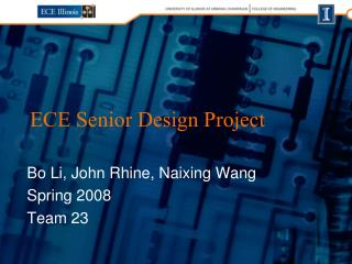 ECE Senior Design Project