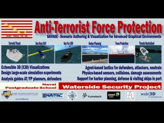 Anti-Terrorist Force Protection: Harbor Tactical 3D Simulations   for Risk, Consequence Assessment