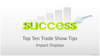 top ten trade show tips