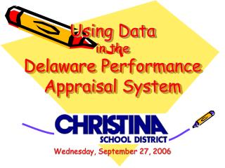 Using Data in the Delaware Performance Appraisal System