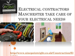 Electricians Manchester