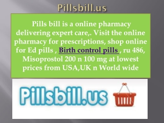 Buy Birth Control Pills | Generic Cytotec | ru 486
