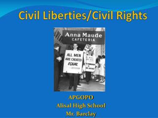 Civil Liberties/Civil Rights