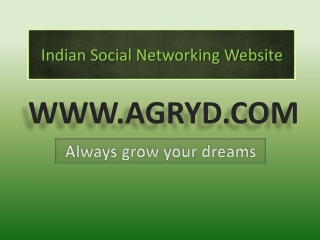 Indian Social Networking Website