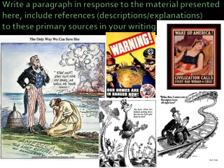 Power Point Isolation to Involvement American Enters the War Please have 20 notes for credit.