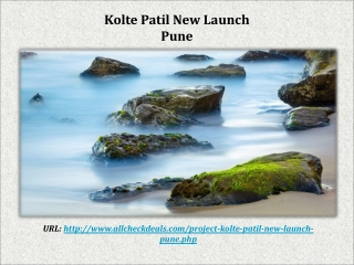 Kolte Patil New Launch in Pune