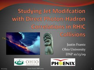Studying Jet Modifcation with Direct Photon-Hadron Correlations in RHIC Collisions