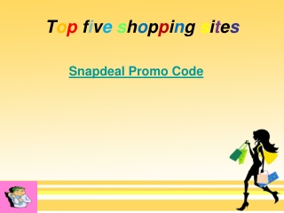 Top five shopping sites