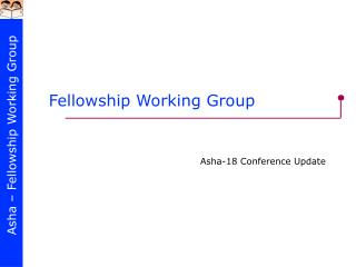 Fellowship Working Group