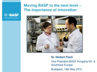 Moving BASF to the next level –  The importance of innovation