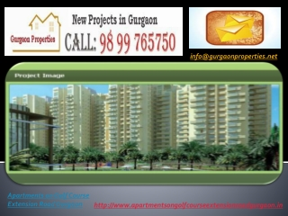 Apartments on Golf Course Extension Road Gurgaon