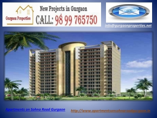 Apartments on Sohna Road Gurgaon