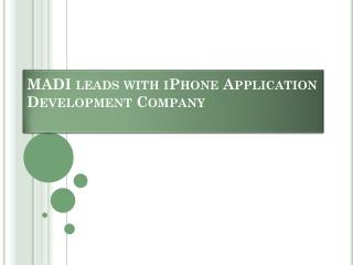 iOS Application Development complete with app developer