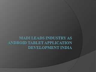 Being Android App Development Company India