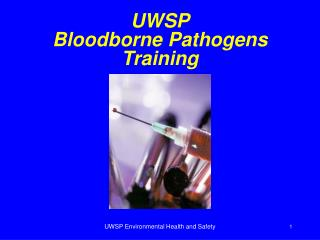 UWSP Bloodborne Pathogens Training