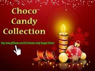 Christmas Candy Bouquets by Giftblooms.com