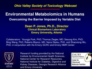 Environmental Metabolomics in Humans Overcoming the Barrier Imposed by Variable Diet