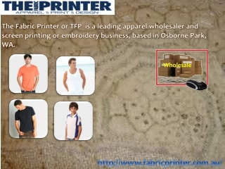 Different Methods of T-Shirt Printing