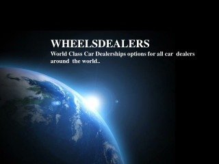 Used car dealers in Japan