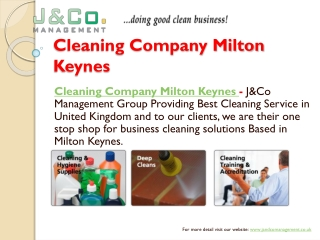 Business Commercial Cleaning Services Solution London