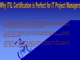 ITIL FOUNDATION COURSE