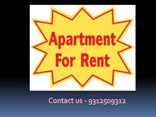 Flats for Rent in South Delhi