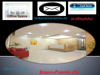 Office Space In Gurgaon | property In Gurgaon