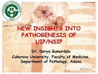 NEW INSIGHTS INTO PATHOGENESIS OF UIP/NSIP
