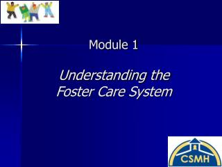 Module 1 Understanding the  Foster Care System