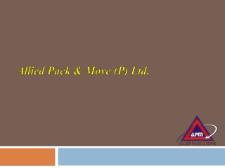 Well Known Movers and Packers in Delhi