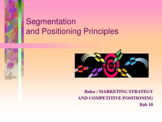 Segmentation  and Positioning Principles