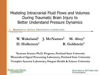 Modeling Intracranial Fluid Flows and Volumes  During Traumatic Brain Injury to  Better Understand Pressure Dynamics