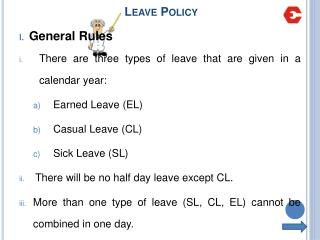 Leave Policy