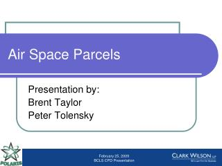 Air Space Parcels