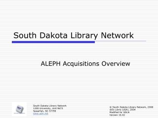 South Dakota Library Network