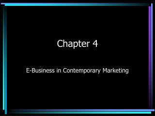 E-Business in Contemporary Marketing