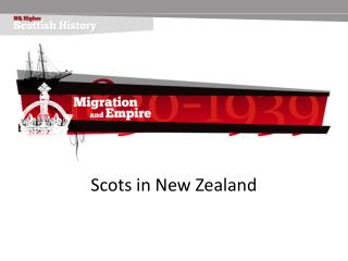 Scots in New Zealand