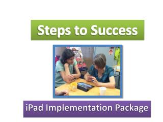 iPad Implementation Package