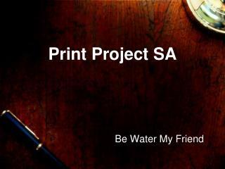 Print Project SA