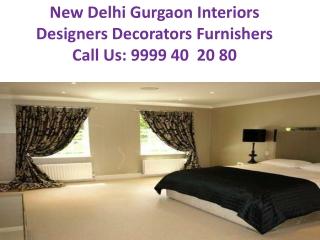 Gurgaon Interiors Designers Decorators Furnishers Phone: 999