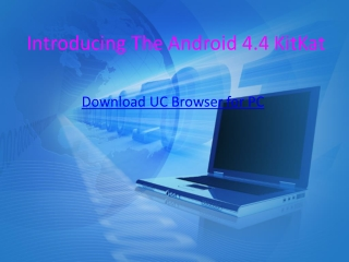 Download UC Browser for PC