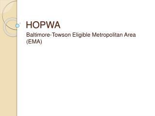 HOPWA