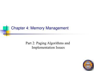 Chapter 4: Memory Management