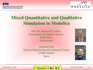 Mixed Quantitative and Qualitative Simulation in Modelica