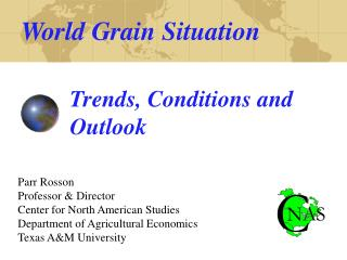World Grain Situation
