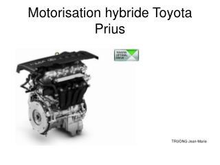 Motorisation hybride Toyota Prius