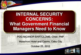 INTERNAL SECURITY CONCERNS: What Government Financial Managers Need to Know